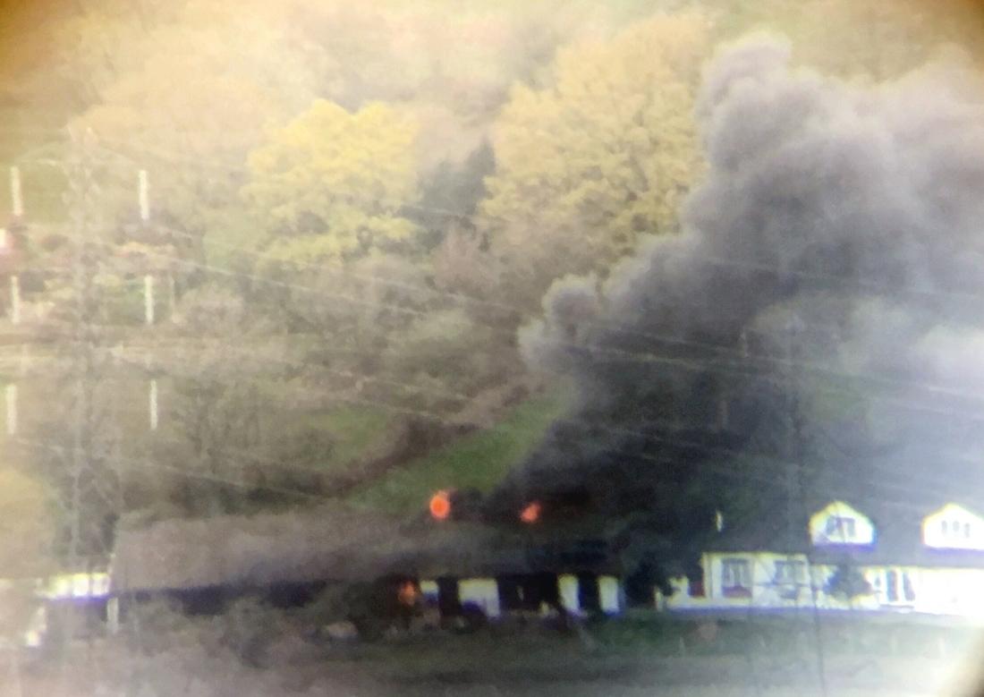 Fire in Lisvane